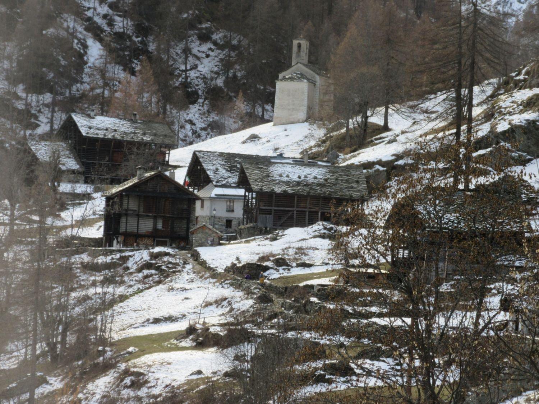 Alta Via dei Walser in Val Vogna da Ca di Janzo 2016-12-11