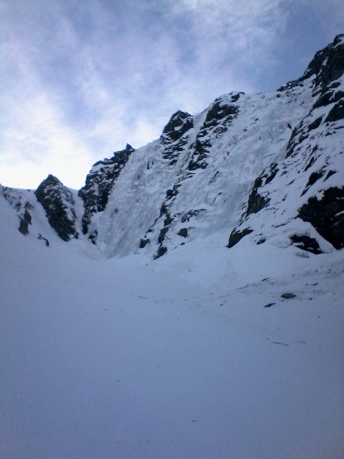 la paretina ghiacciata
