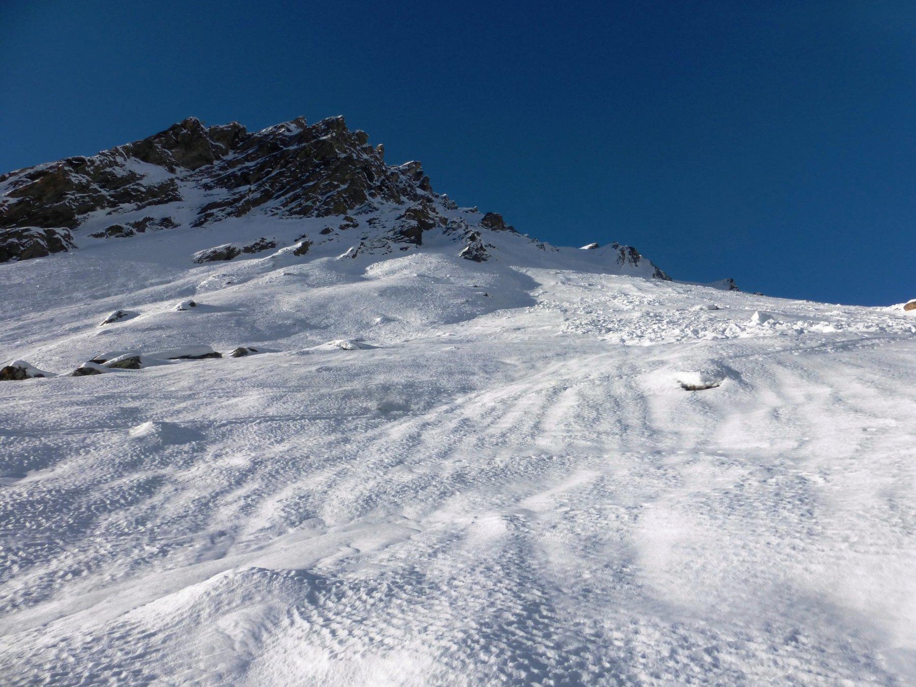 traversi su neve dura