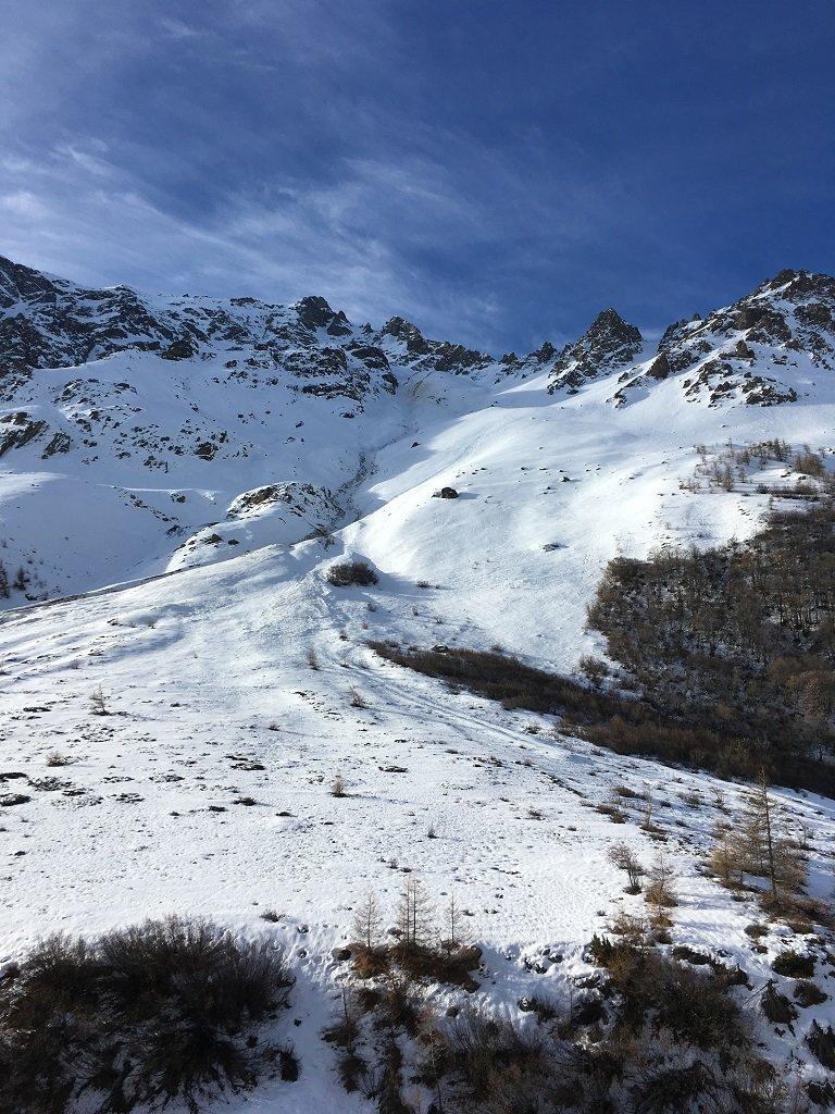 Clochettes (Col des) versante NE 2016-12-13