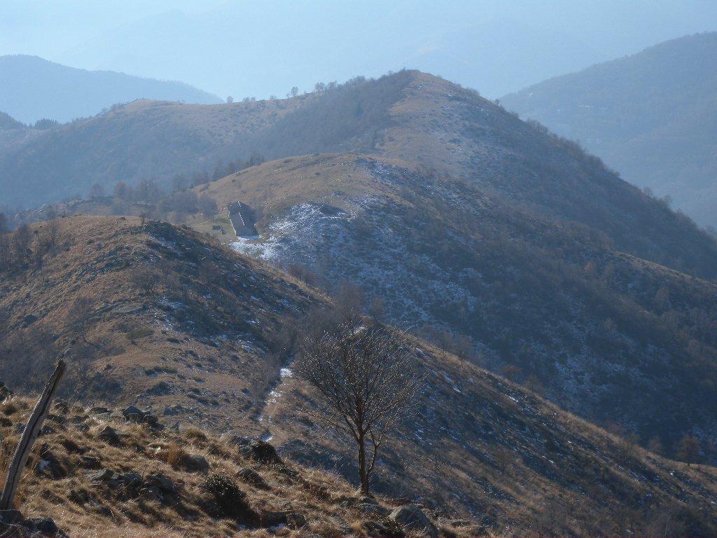 Dorsale con Alpe La Cialma