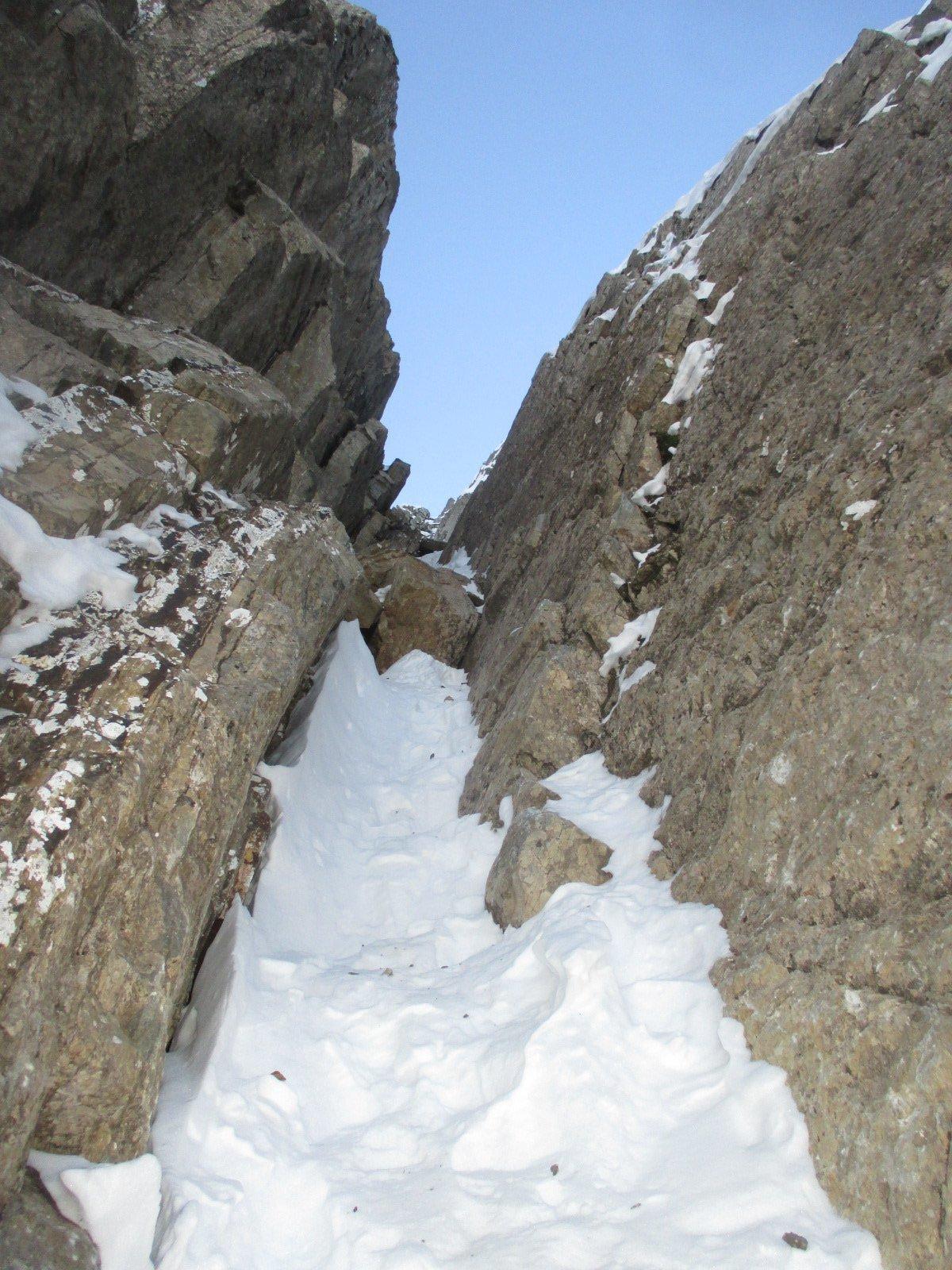 Qui bisogna arrampicare