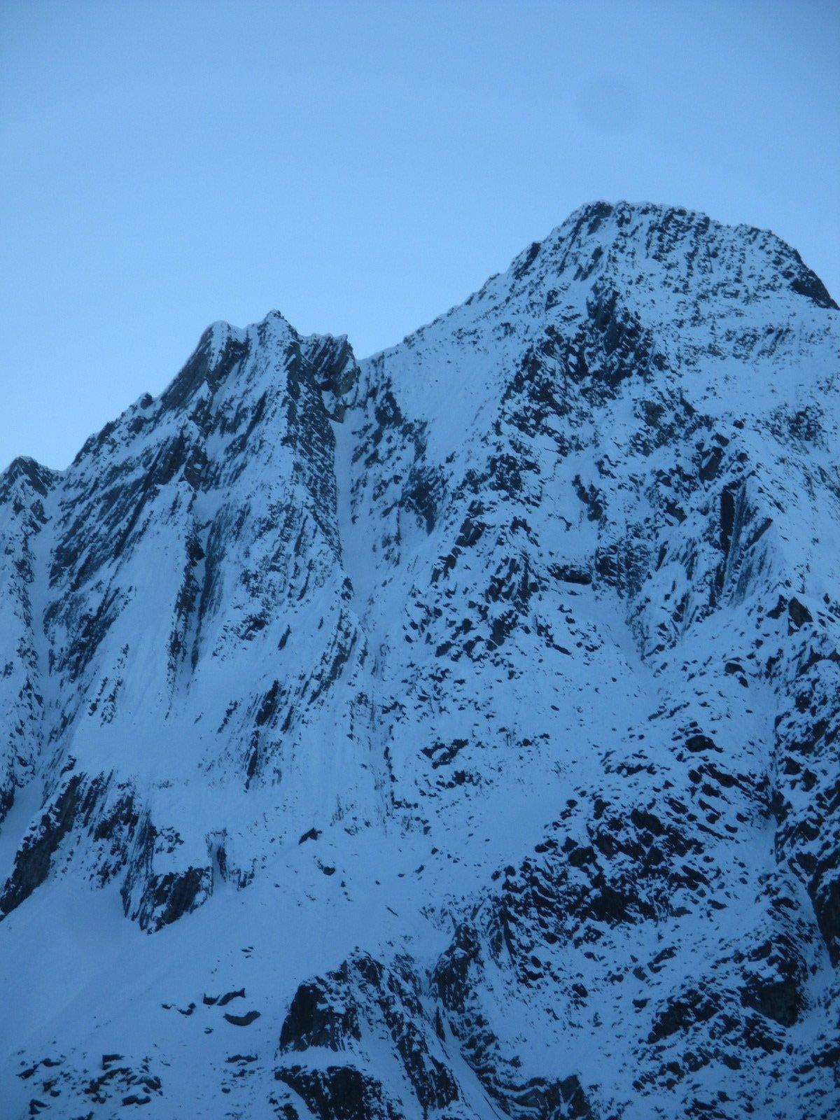 Il Monte Foppa dal rifugio Lissone