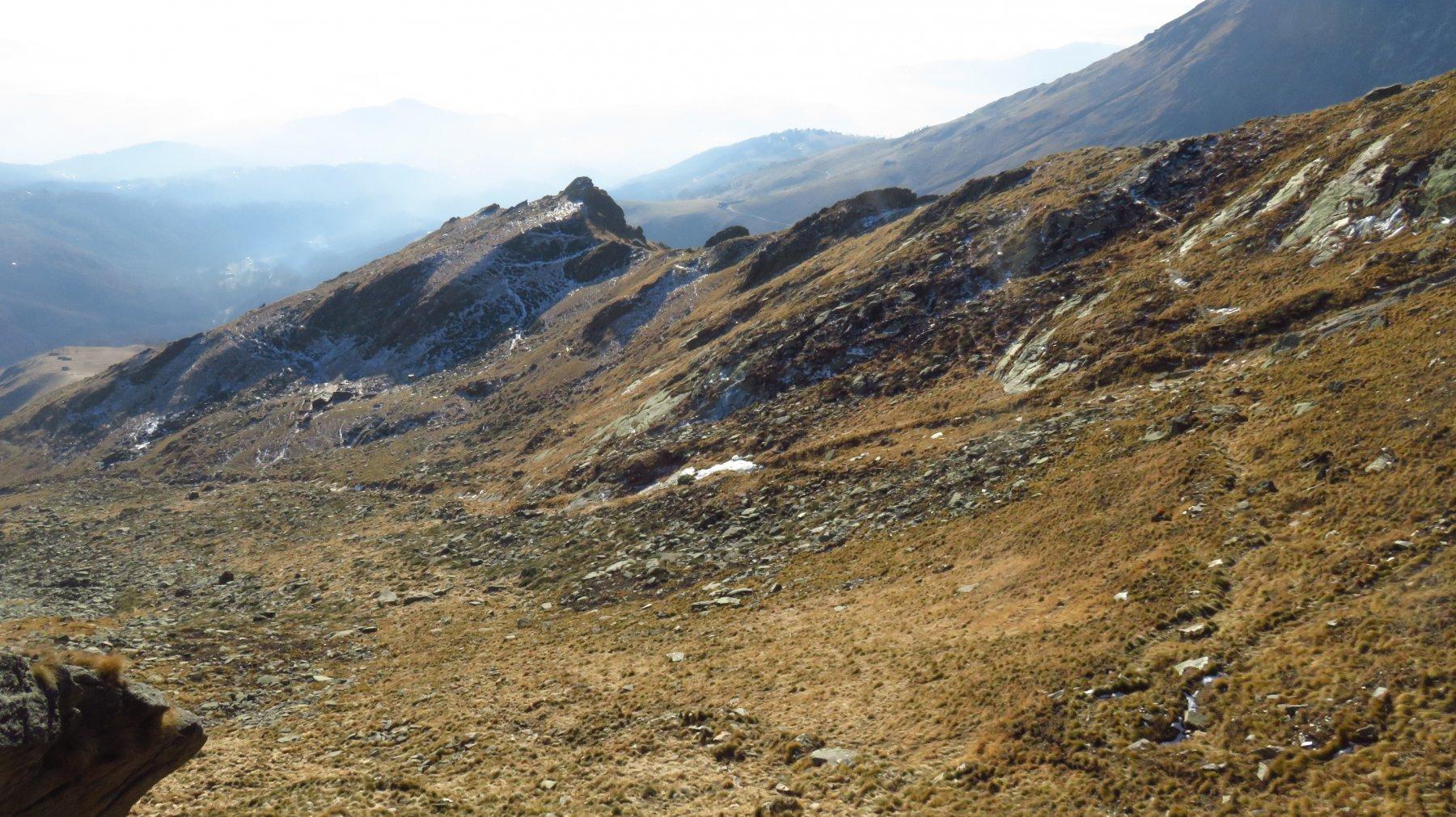 In basso, Alpe e Bric Pistone
