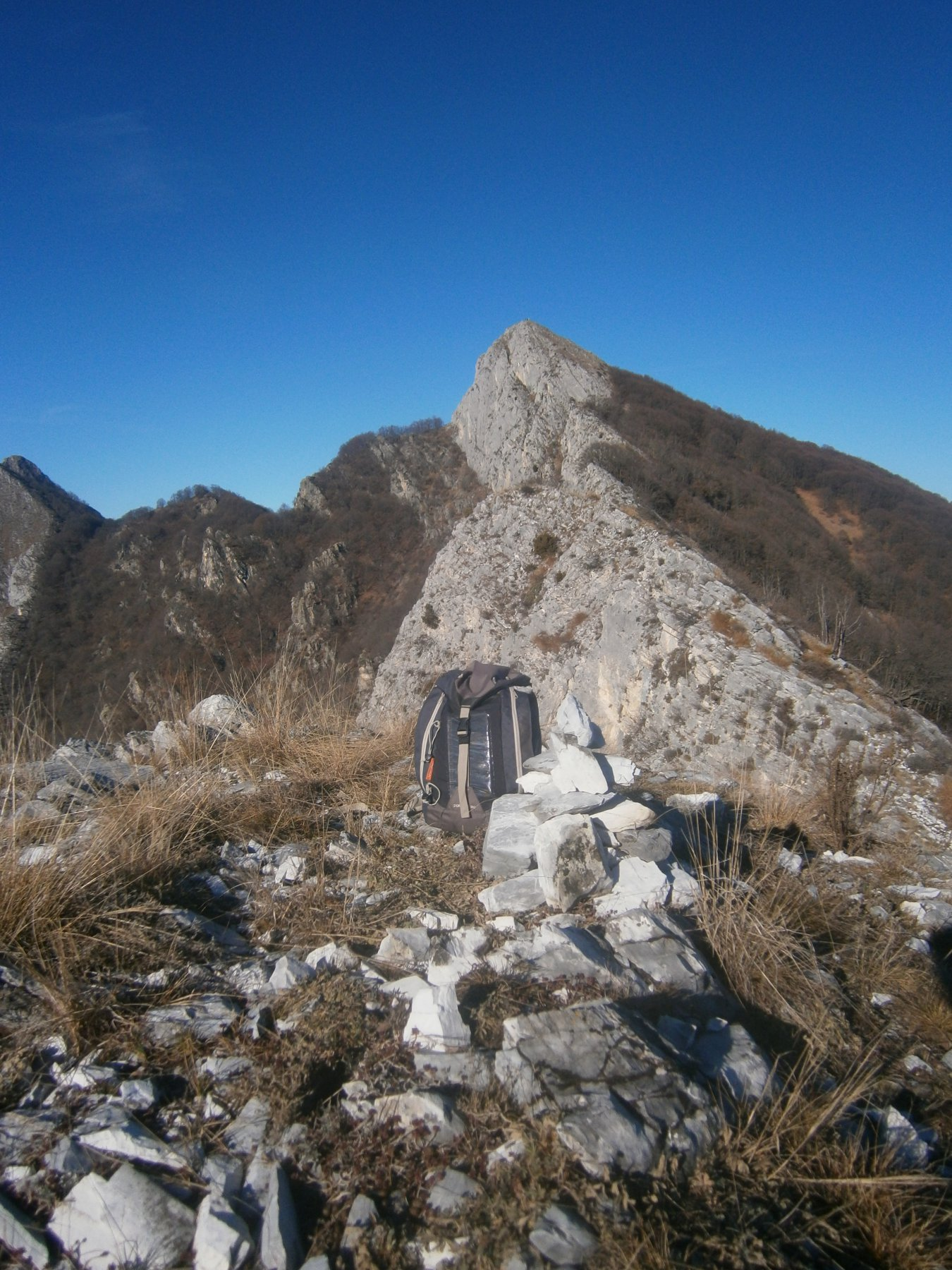 Cresta percorsa e Saben da rocca s.Giovanni