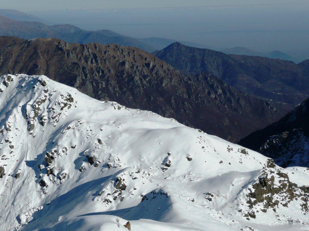 Punta delle Lance, colletto e valle di Viù.