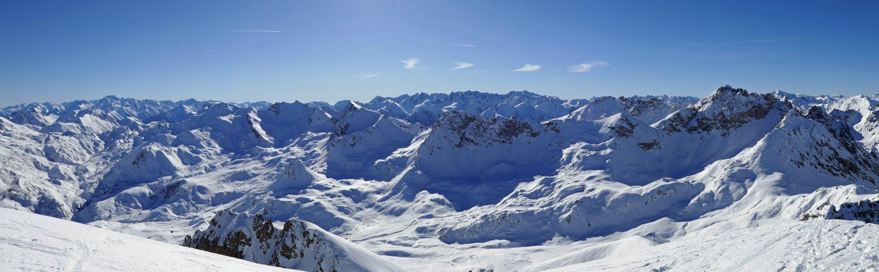 Panoramica dal Cassorso...