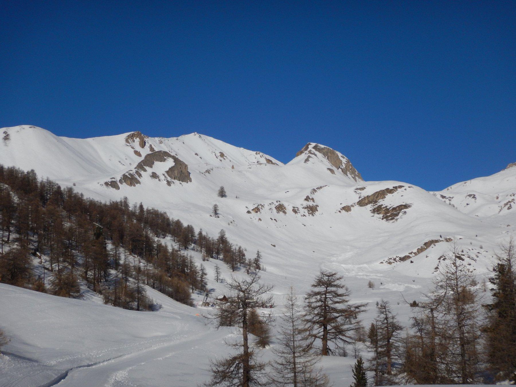 Lauzin (Pic du) da Montgenèvre 2016-12-18