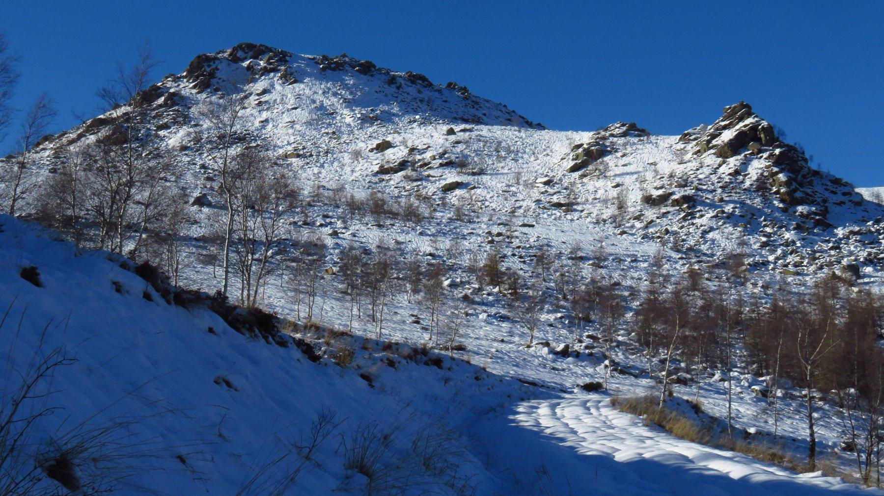 Colme (le) e Monte Cavallaria da Quassolo 2016-12-22