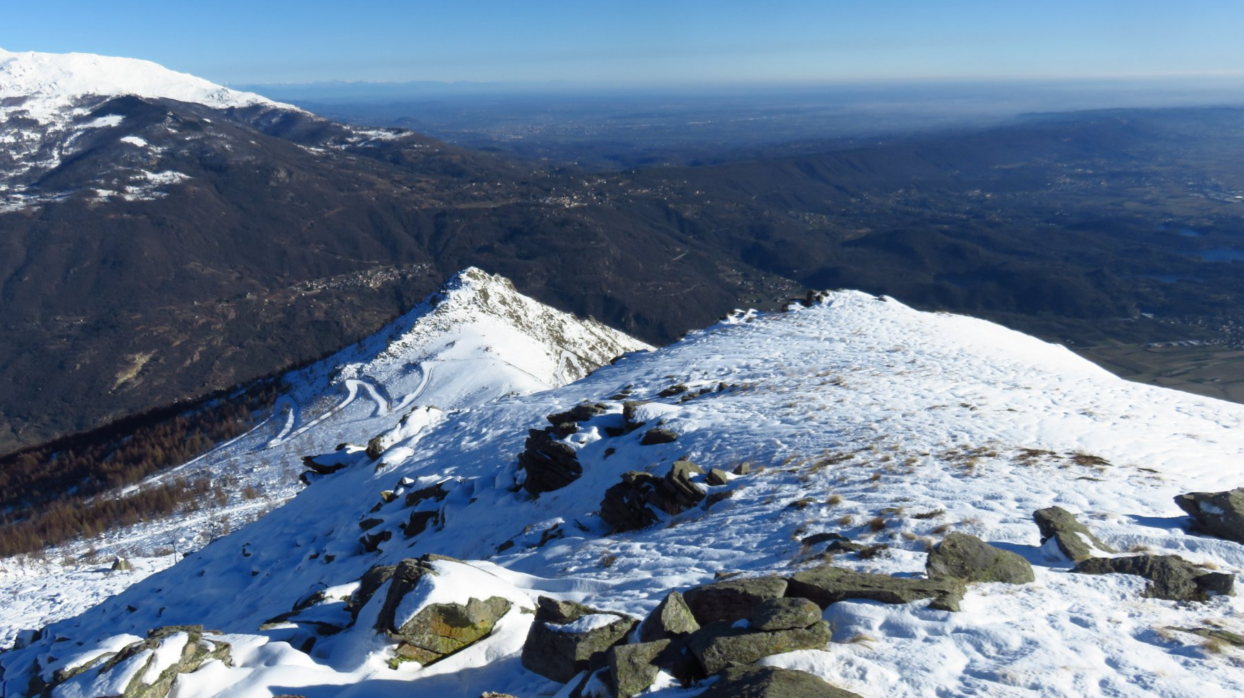 Monte Cavallaria da Le Colme
