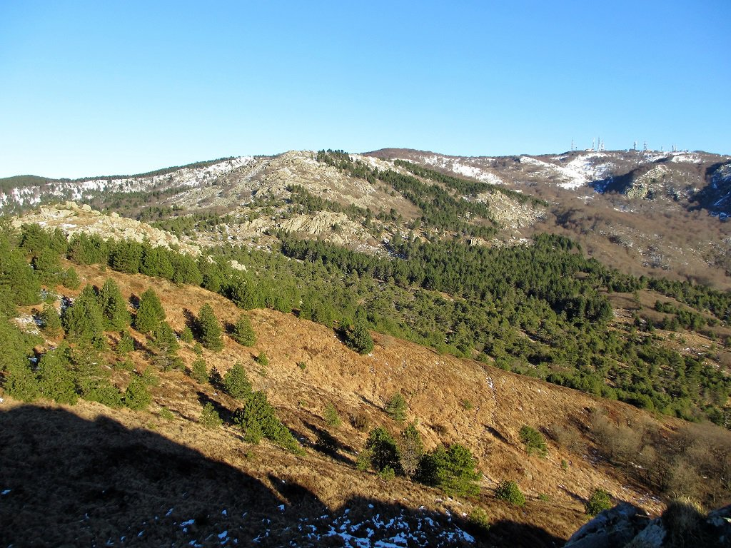 Dal monte Priafaia il Beigua
