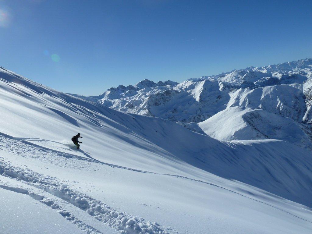 in alto bella neve