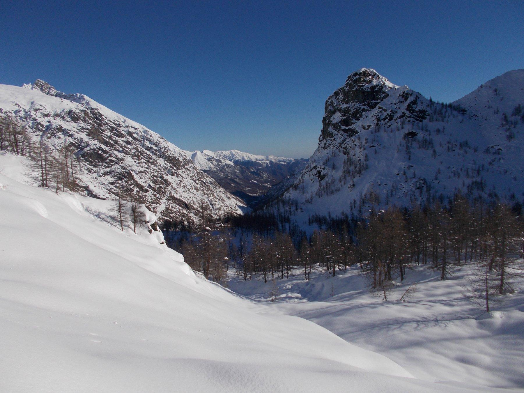la Rocca Tovo..dal Colle Nord del Tovetto..