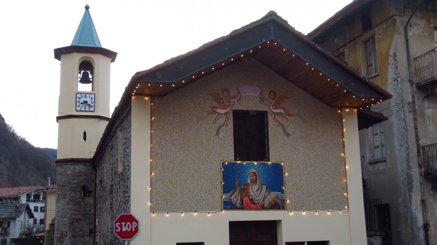 Partenza da Sant'Anna di Oltre Soana