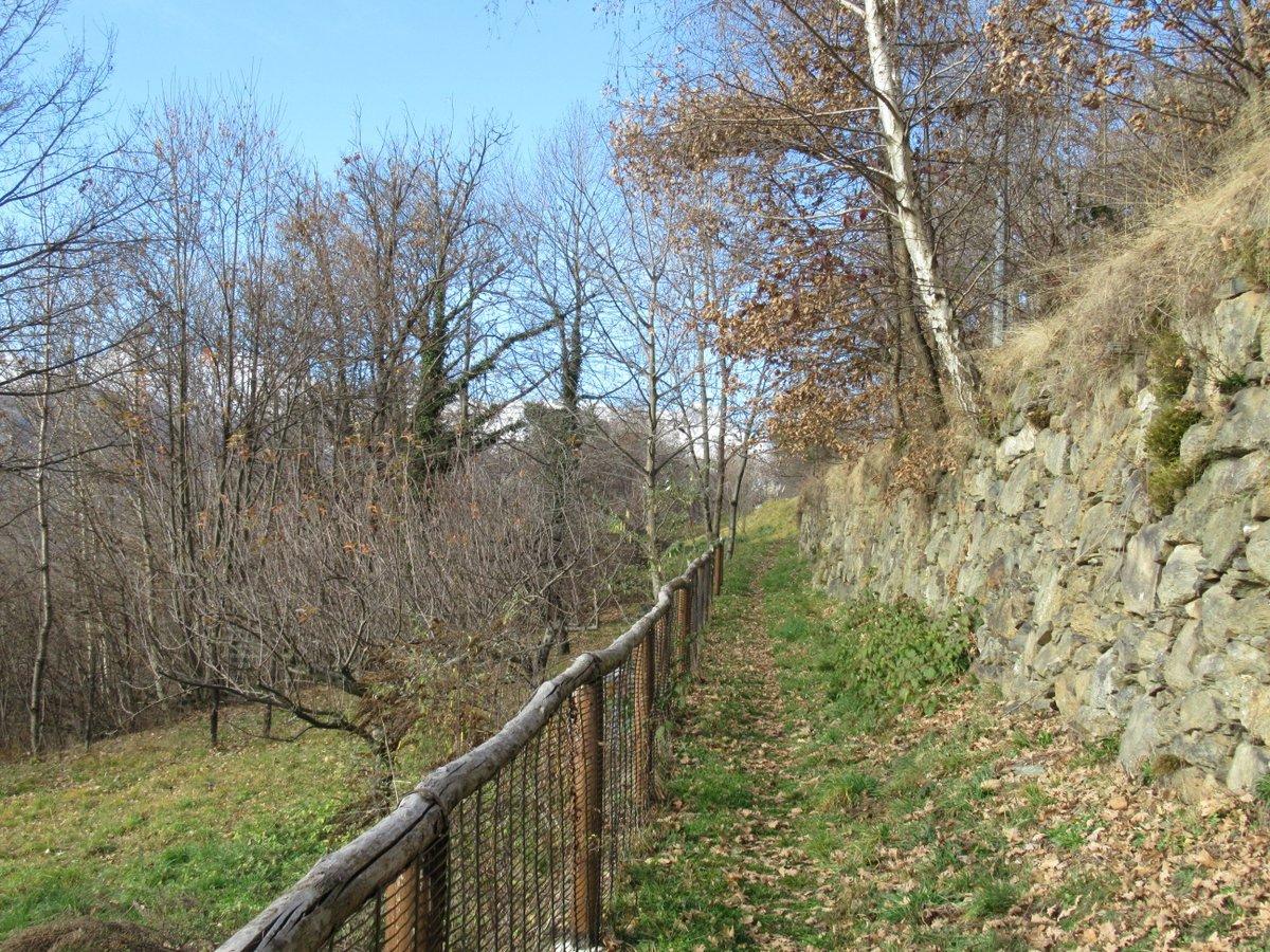 Un tratto del sentiero dopo Bienca.