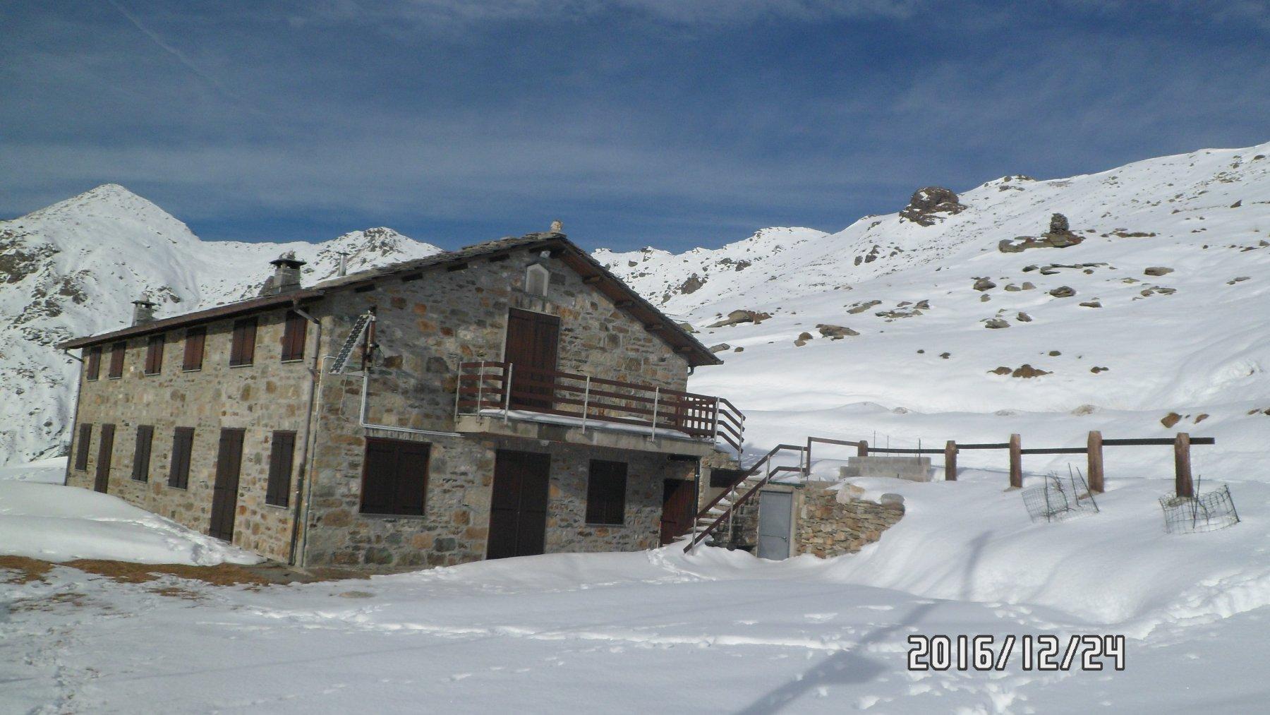 Il rifugio Alpe Soglia