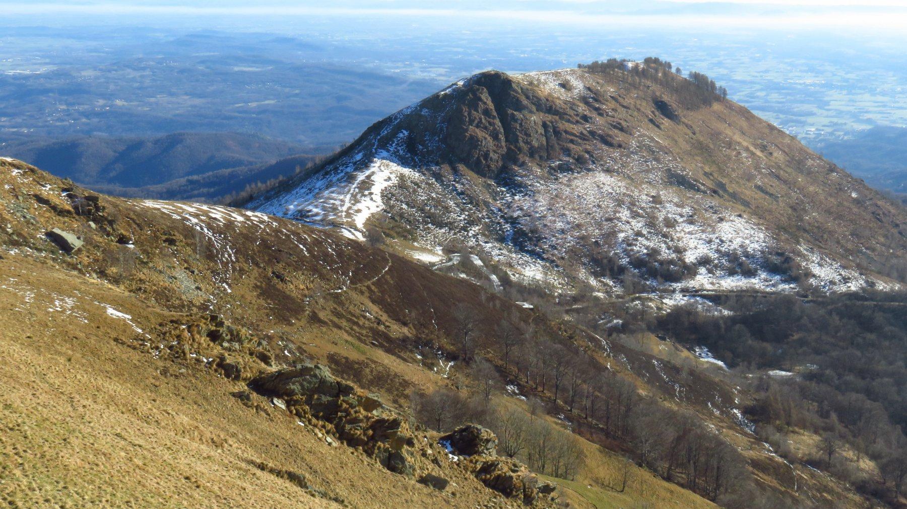 Discesa verso il Monte Calvo