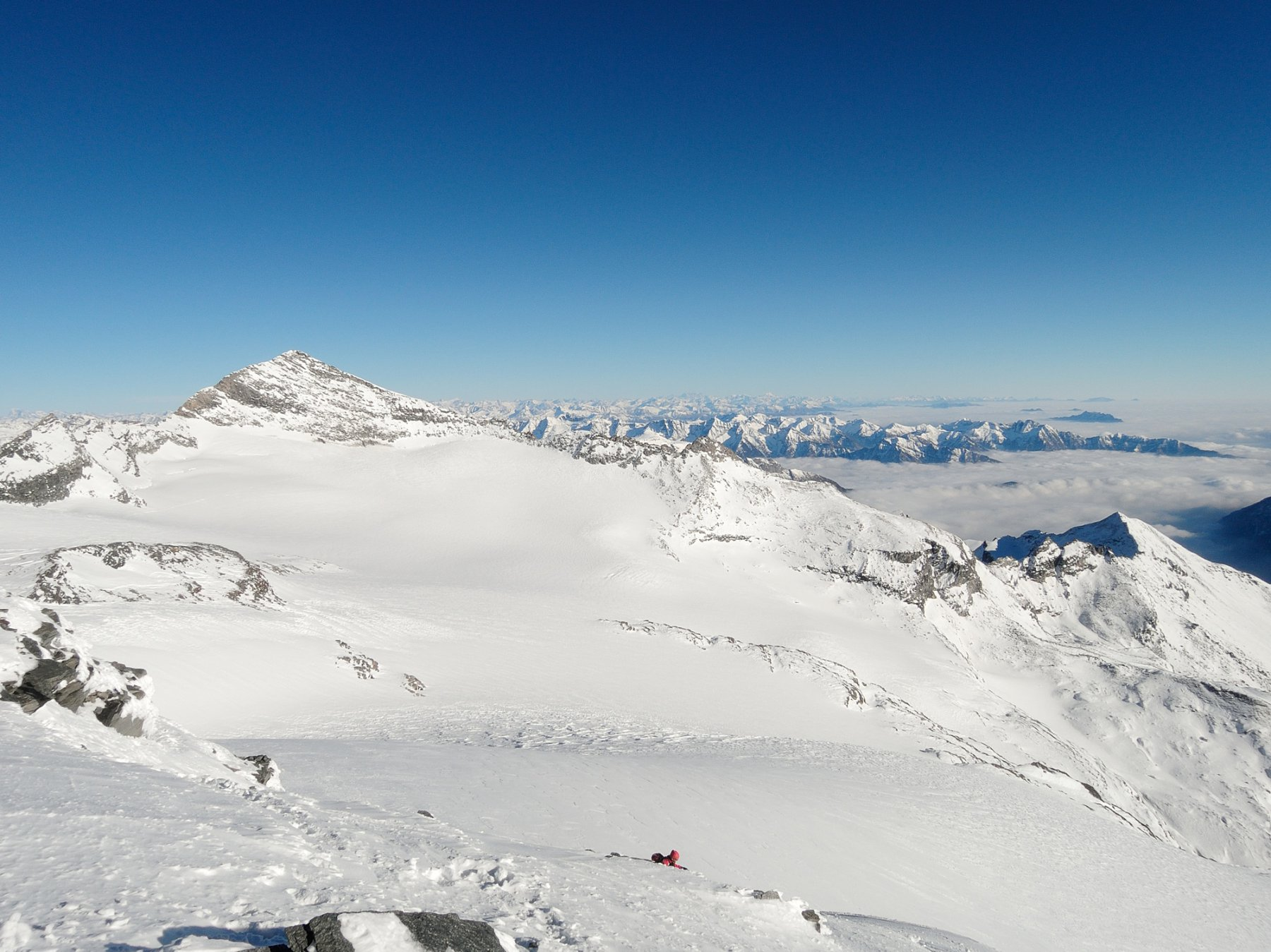 Leone e Alpjergletscher