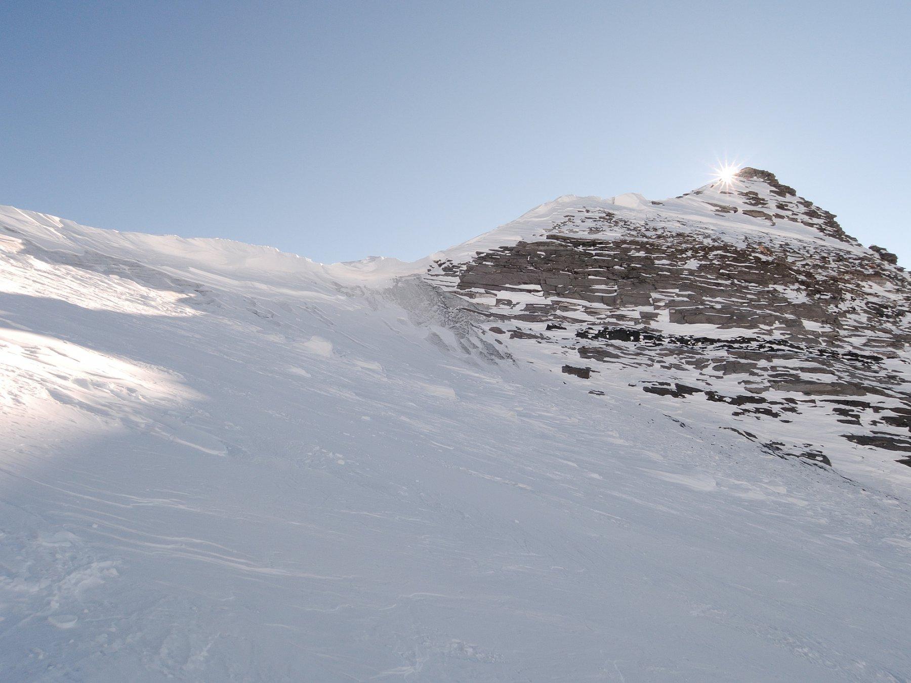 Cornice al Breithornpass