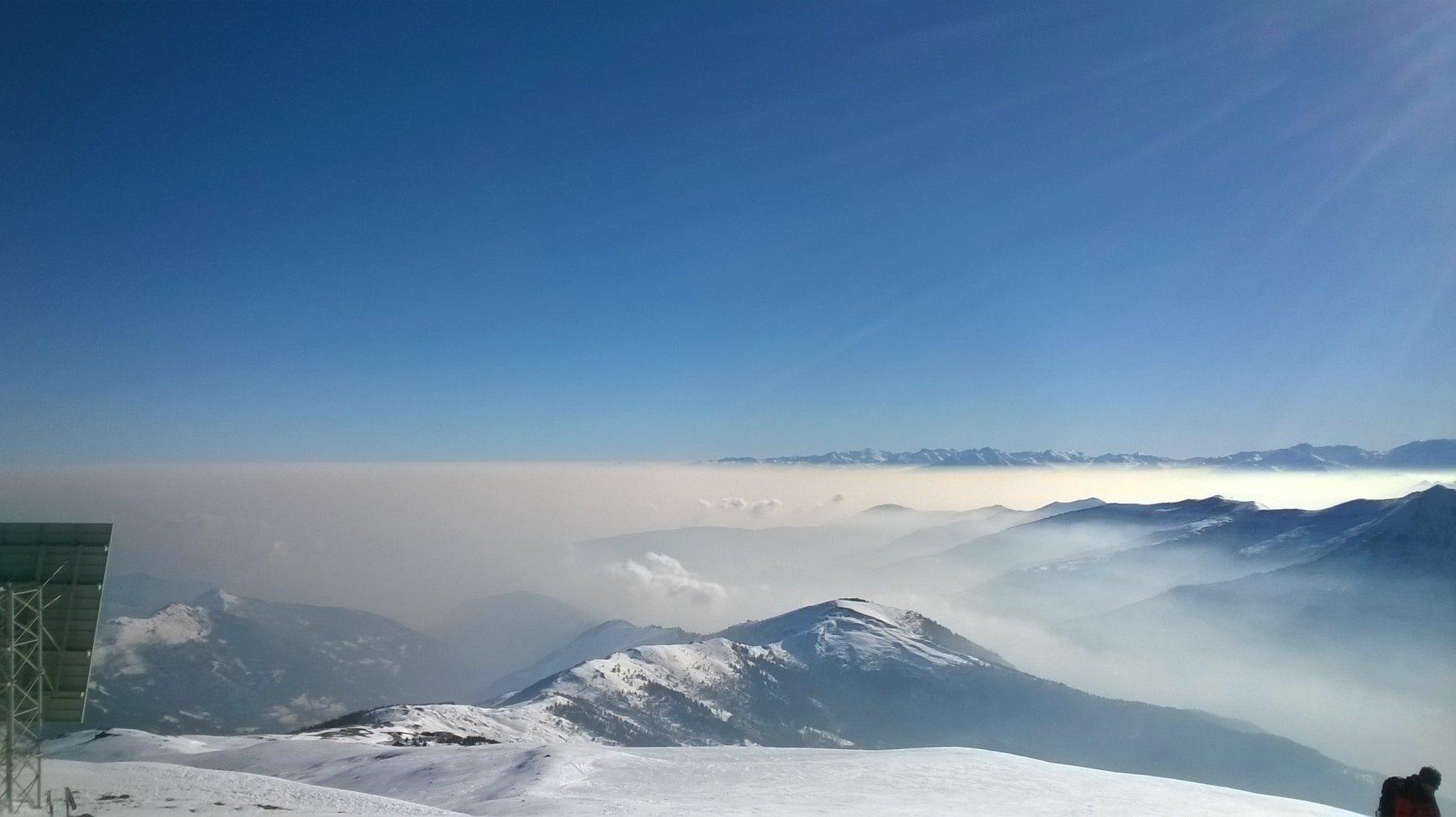 Nubi sulla piana