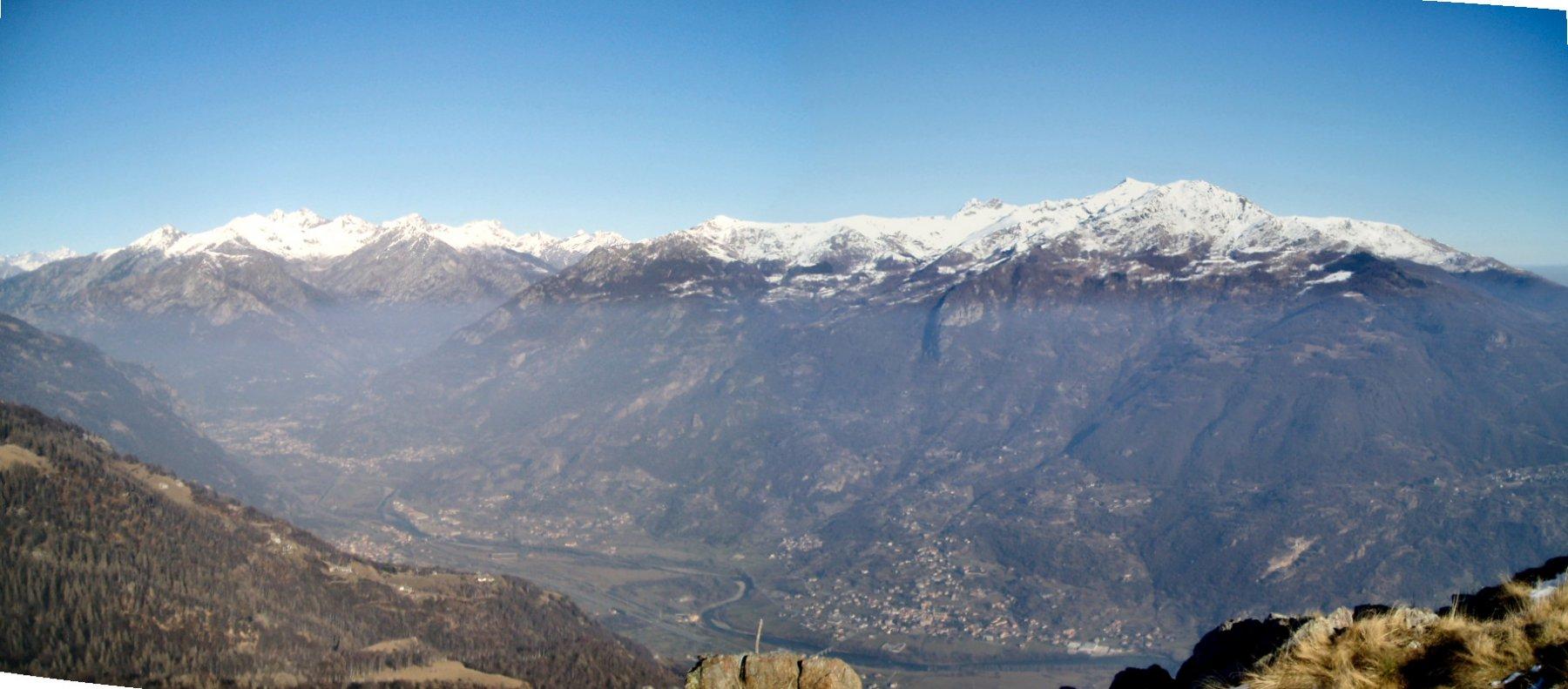 Bassa Val d'Aosta con Dame di Challant.