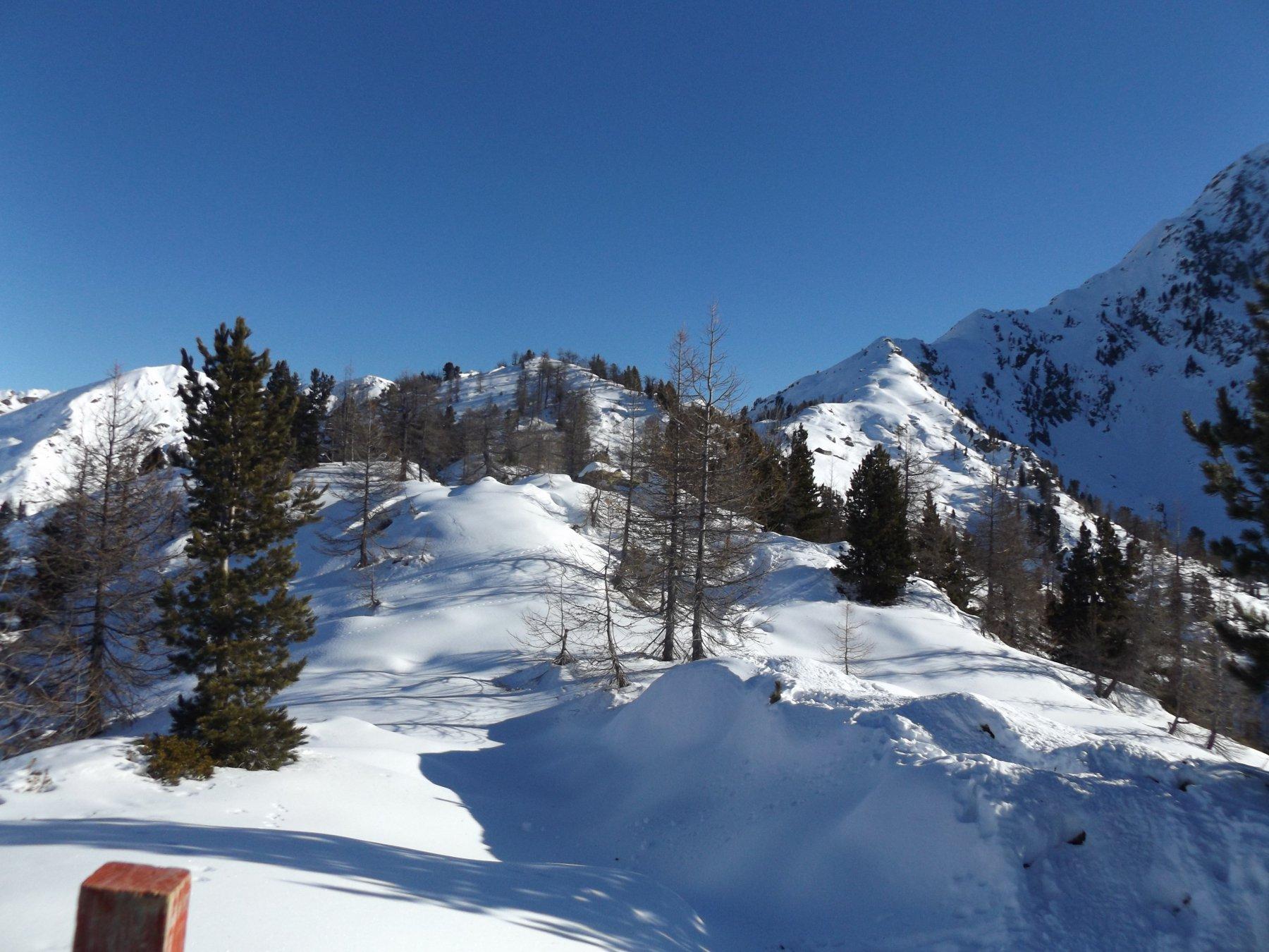 Cresta della cima Leretta