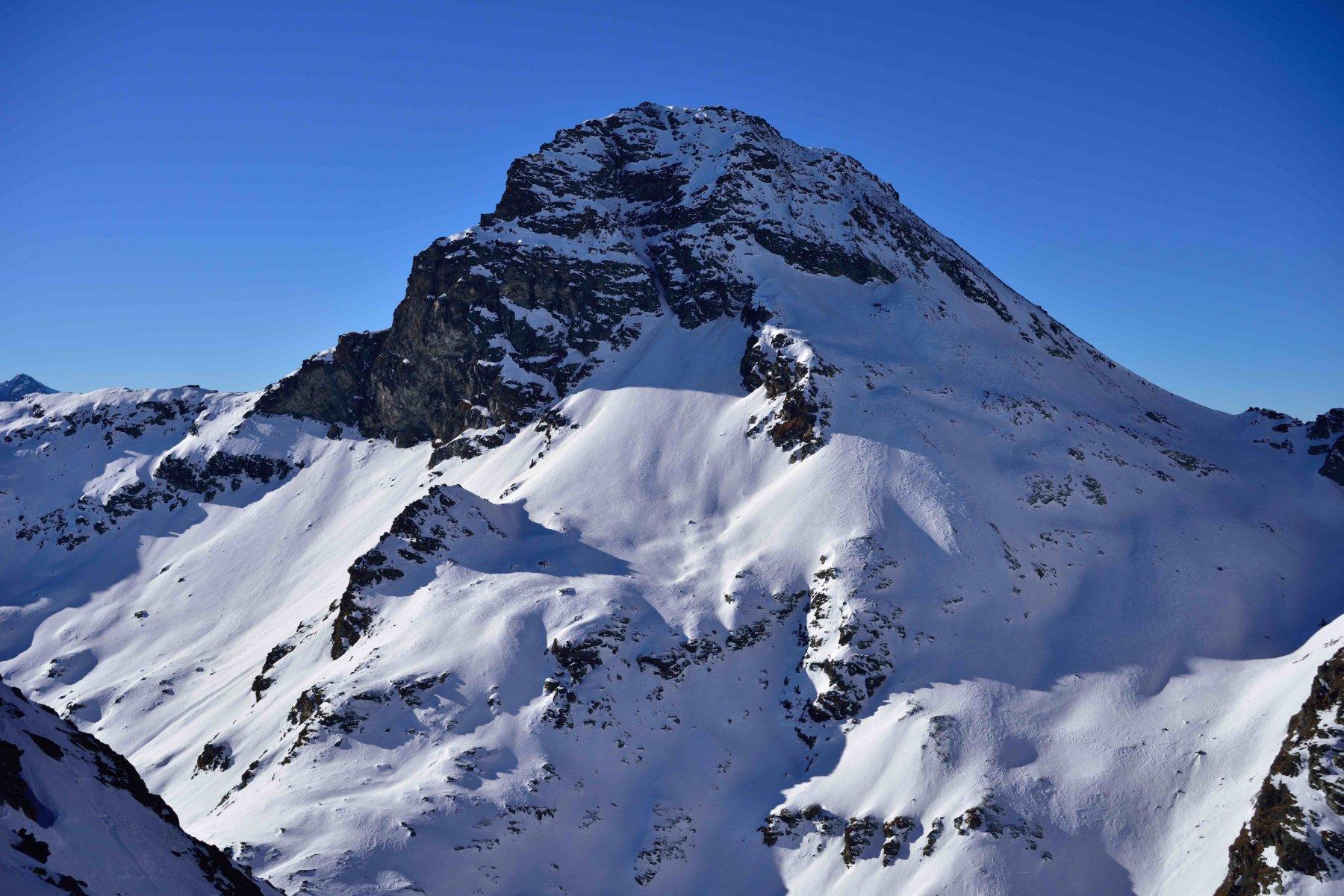 La Gran Becca du Mont vista dalla Forclaz du Bré