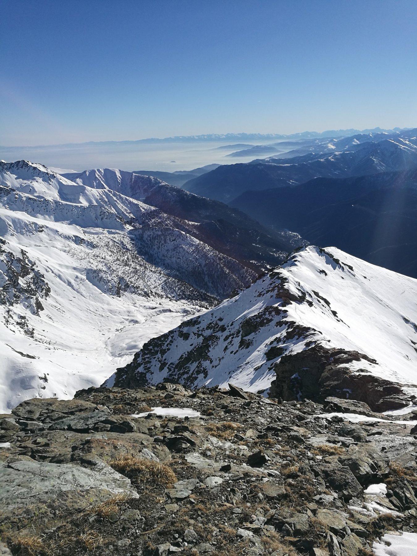 Orsiera (Monte, Punta Sud) da Prà Catinat per lo scivolo Sud 2016-12-31