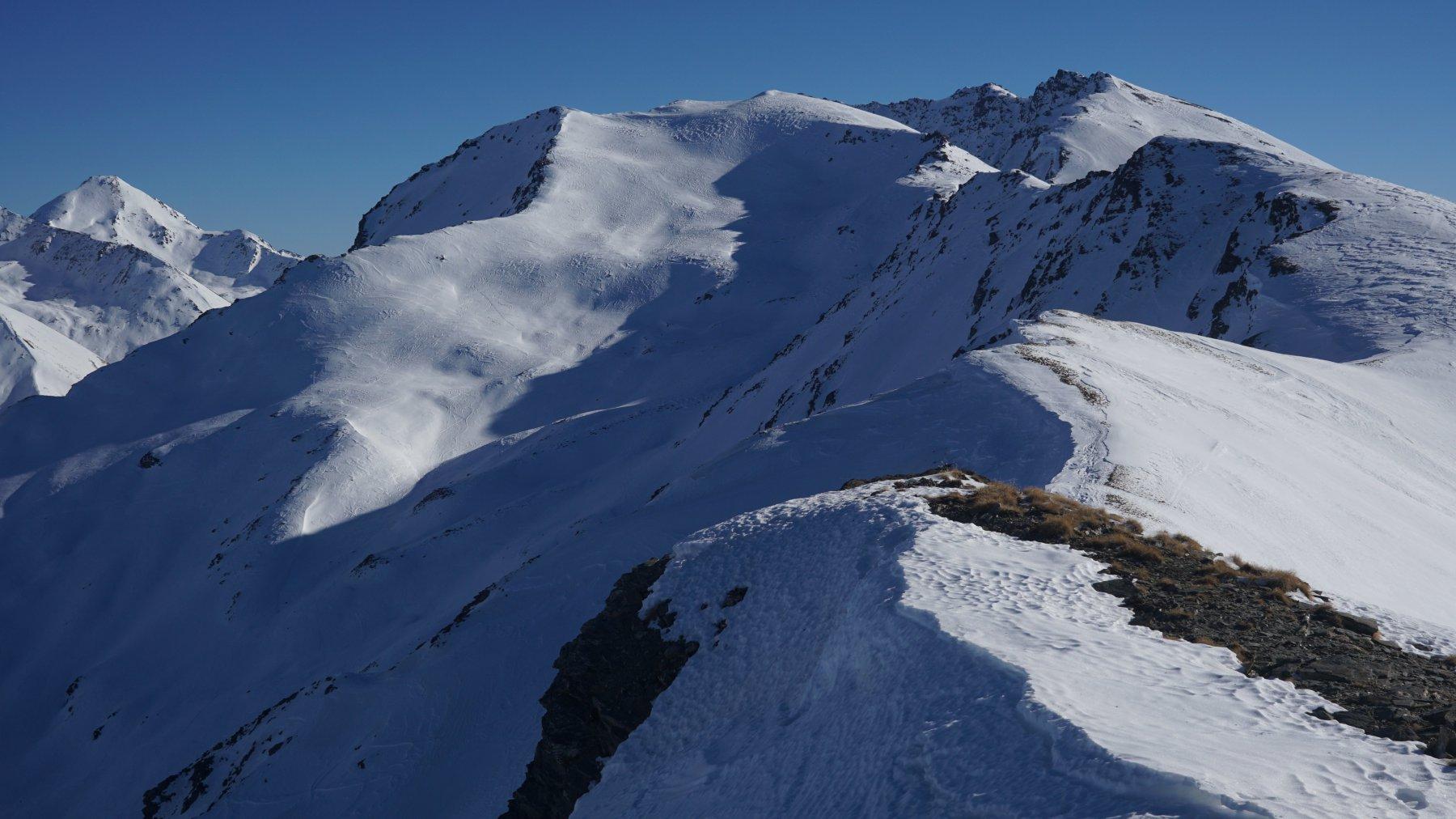 Vallone Terre Nere ( discesa ) e cresta