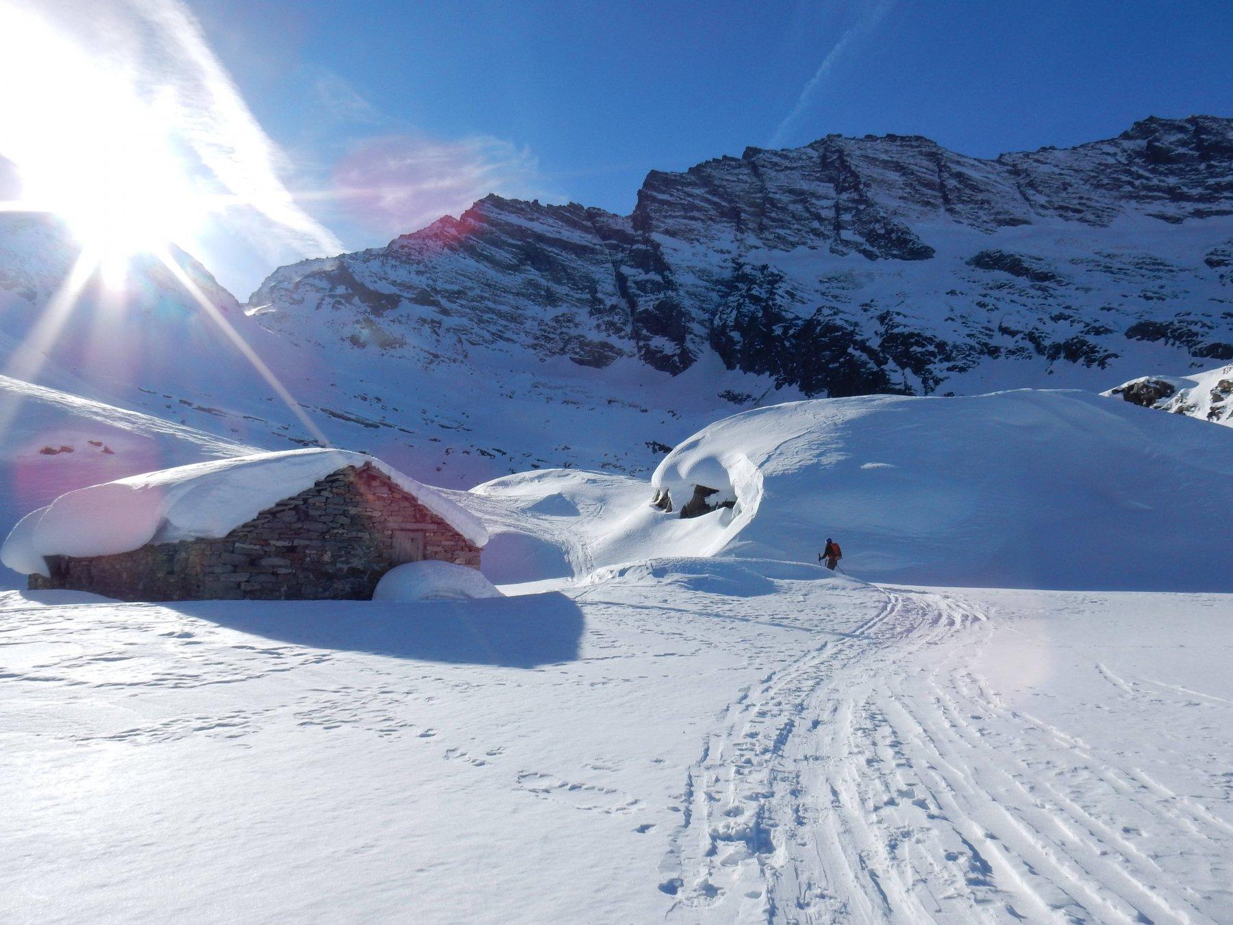 Passiamo all'Alpe di Nel 2264mt.