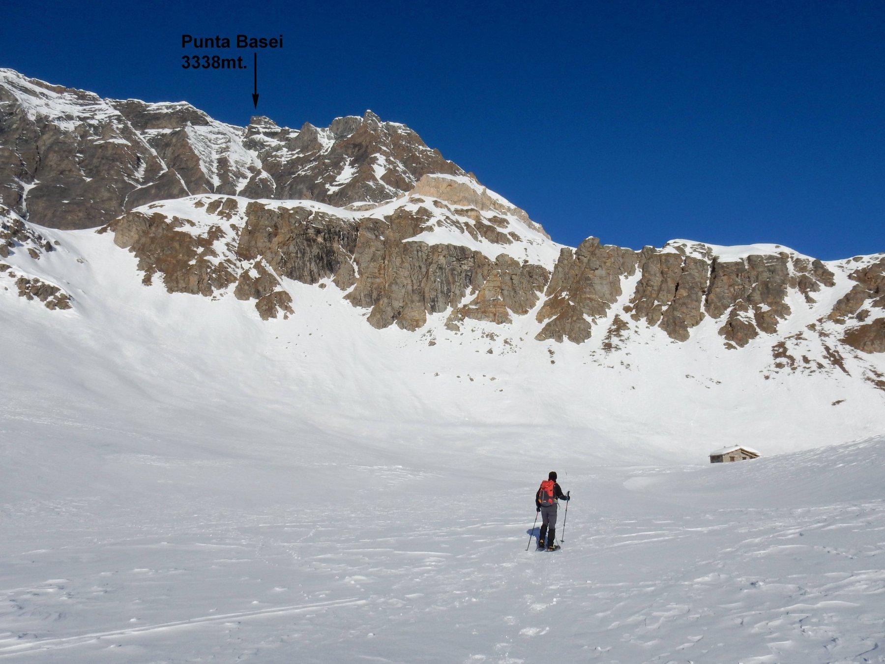 Verso l'Alpe Agnel.