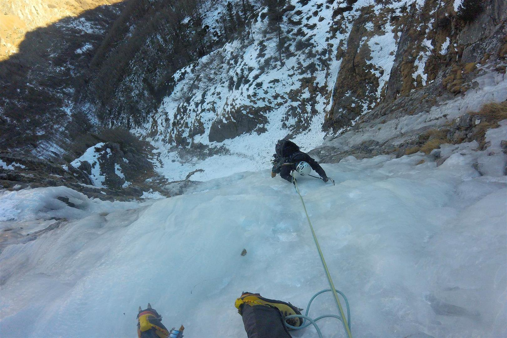Val Chisone Rocca Bruna (Cascata) 2017-01-03