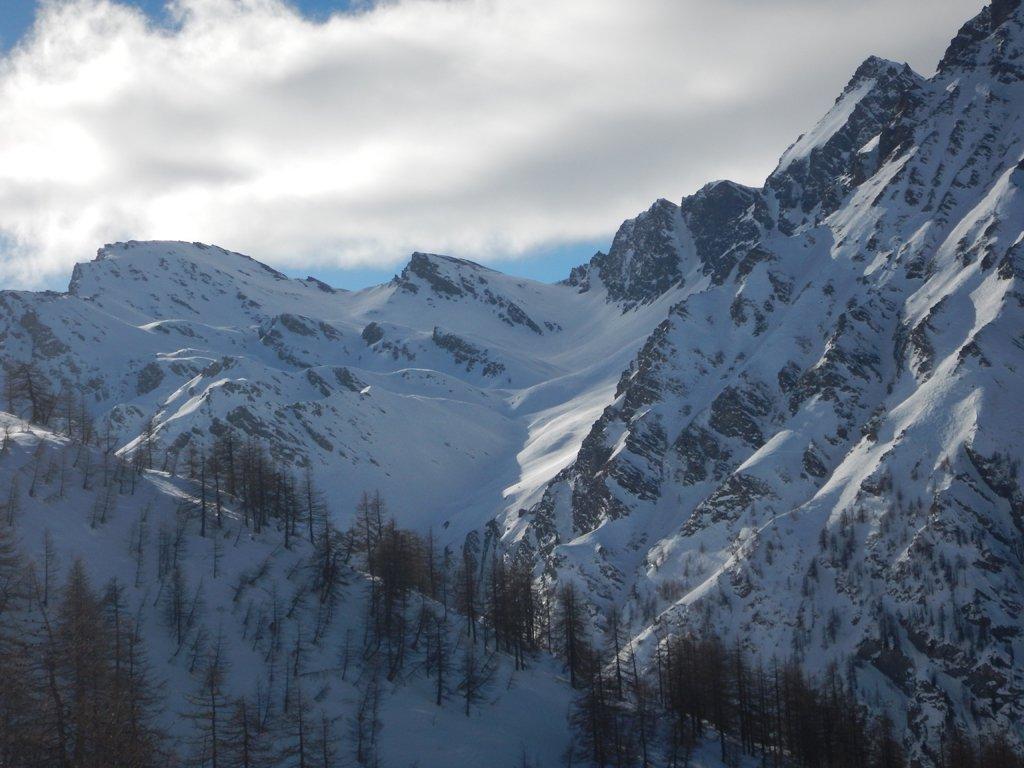 Testata Val Troncea con Monte Appenna