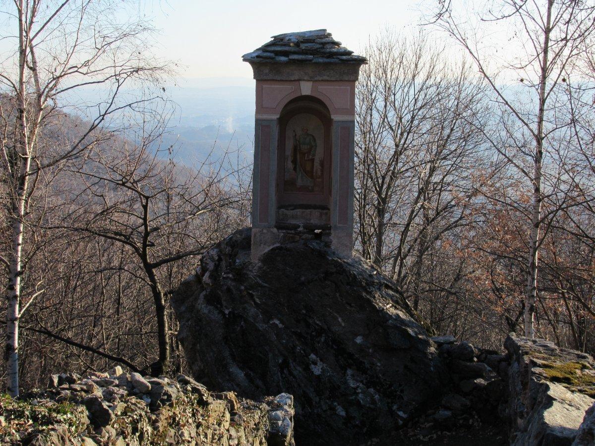 Andrate (Comune) da San Germano, anello per Nomaglio 2017-01-06