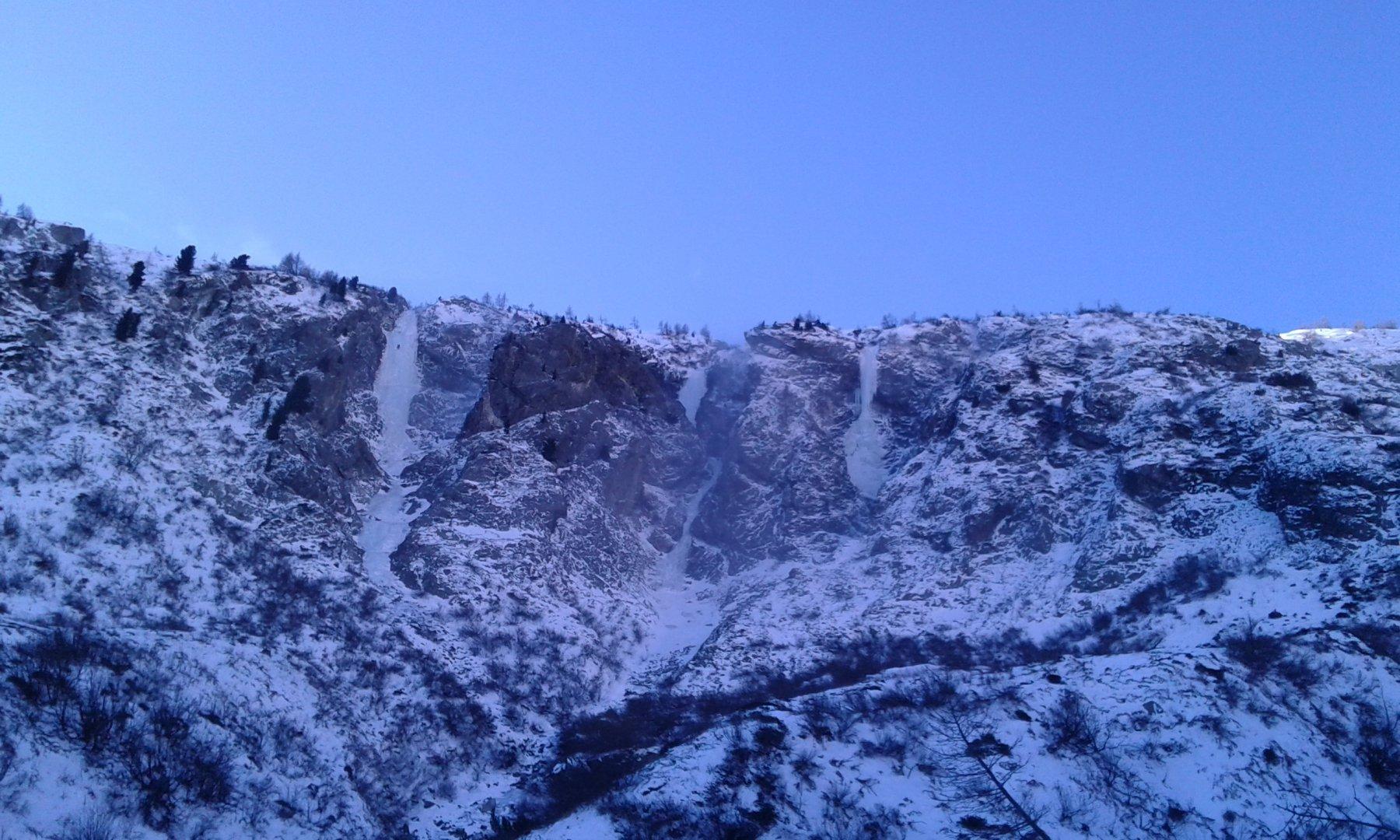 Le tre cascate di Vazzeda.