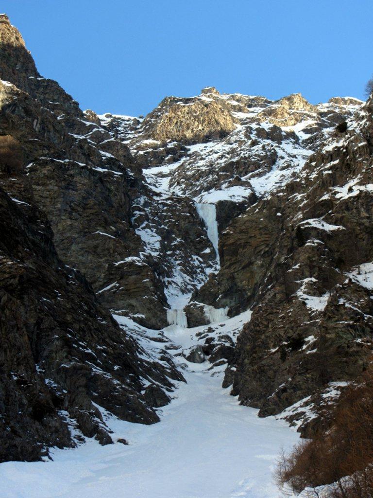 La cascata nel complesso