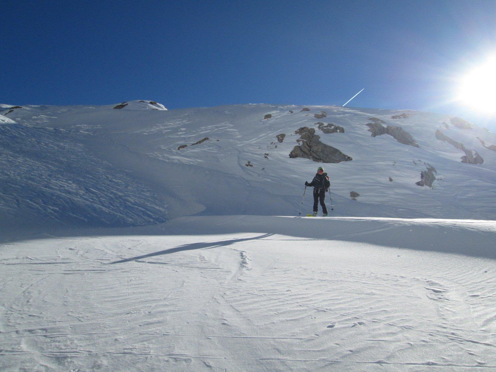 lingue di neve portante e sciabile