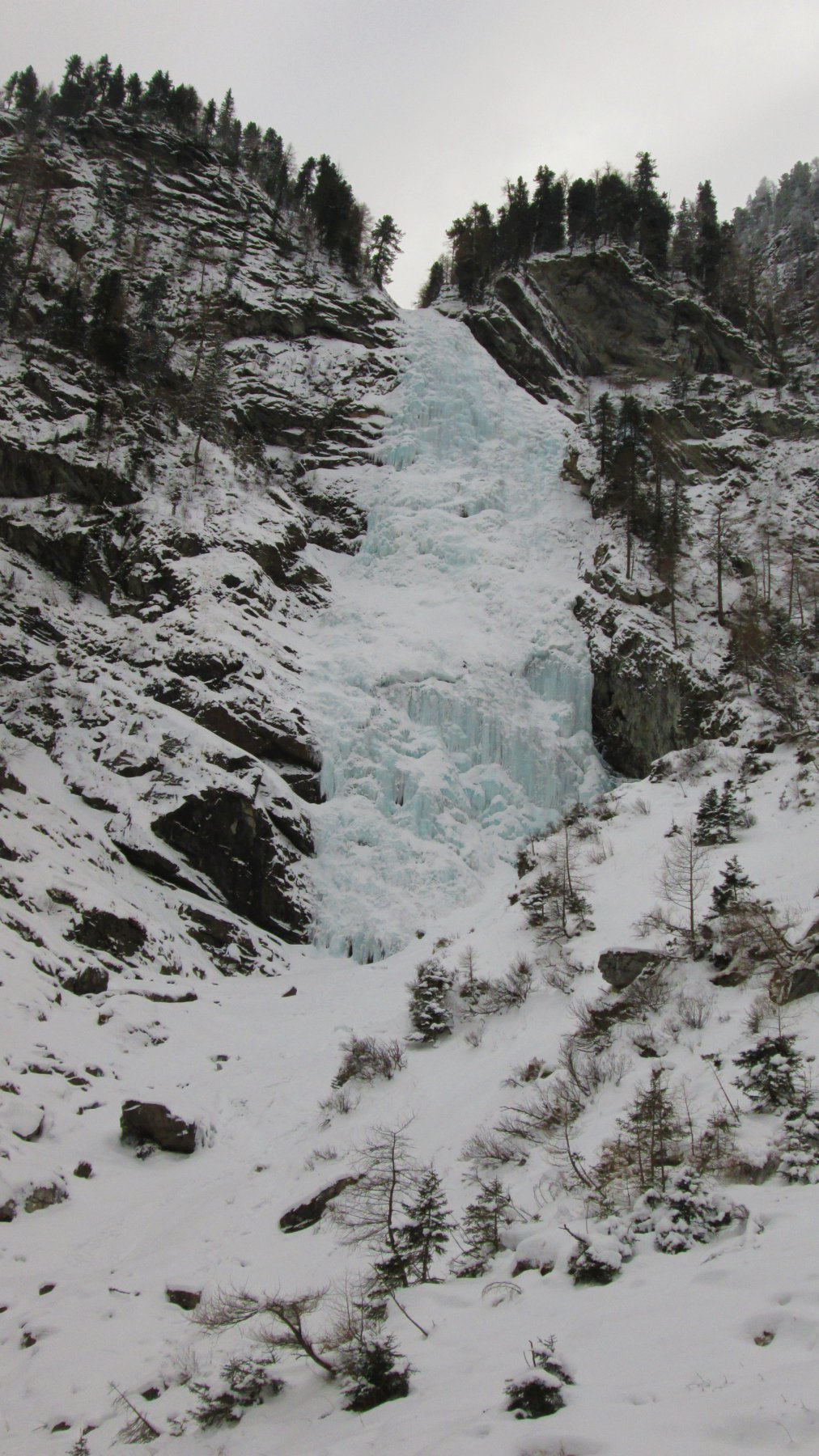 Eisarena, Badgastein Höhkarfall 2017-01-09