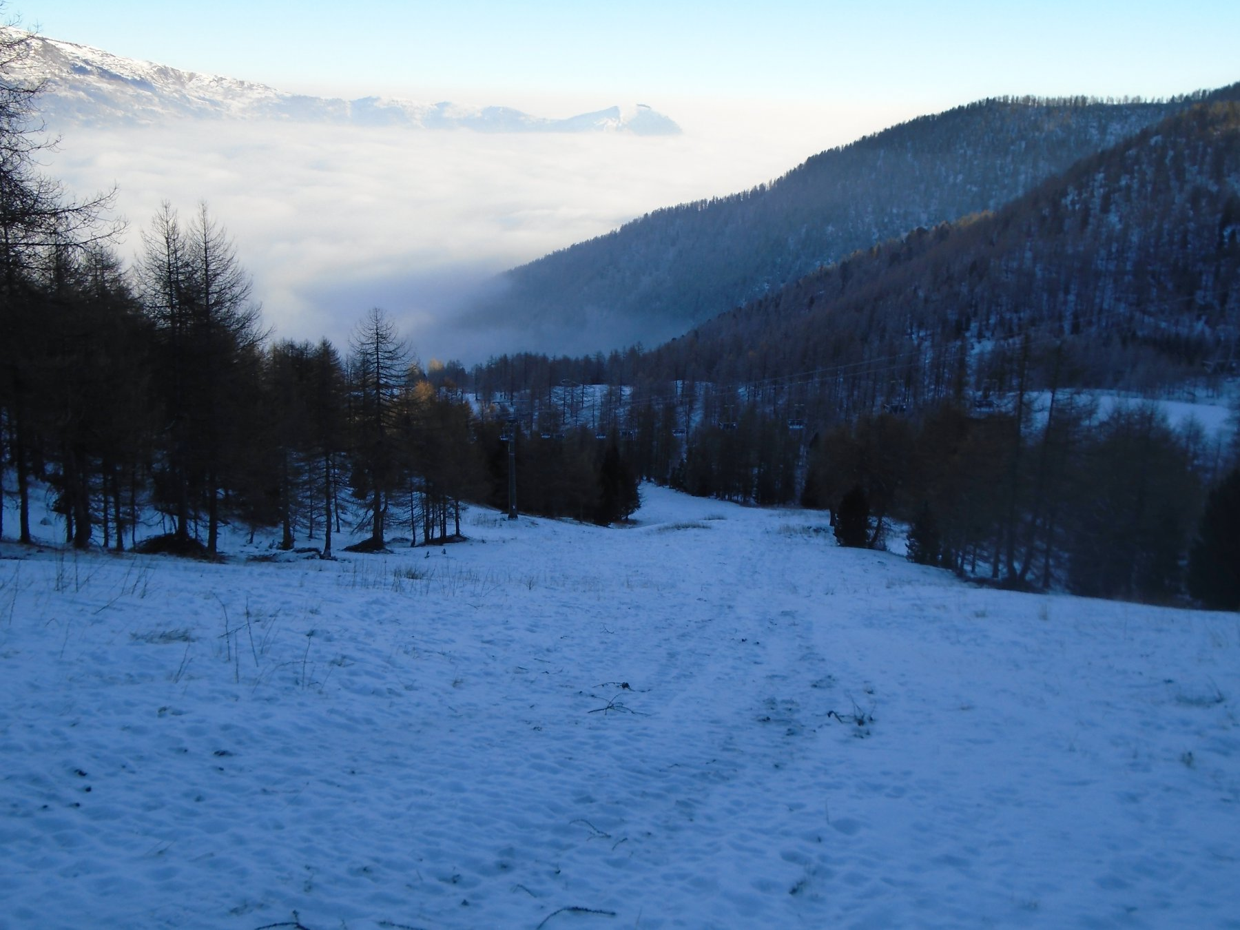 Pochissima neve prima di Meire Garneri