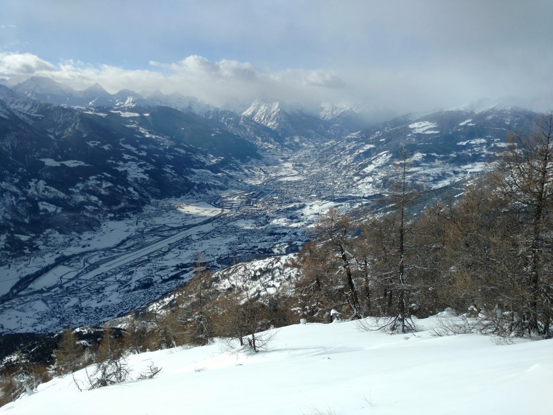 Aosta dalla croce