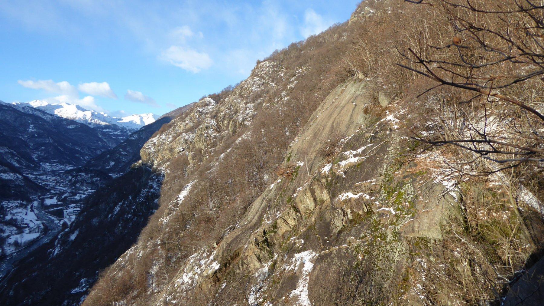 Punto Panoramico sul sentiero di Piancerese