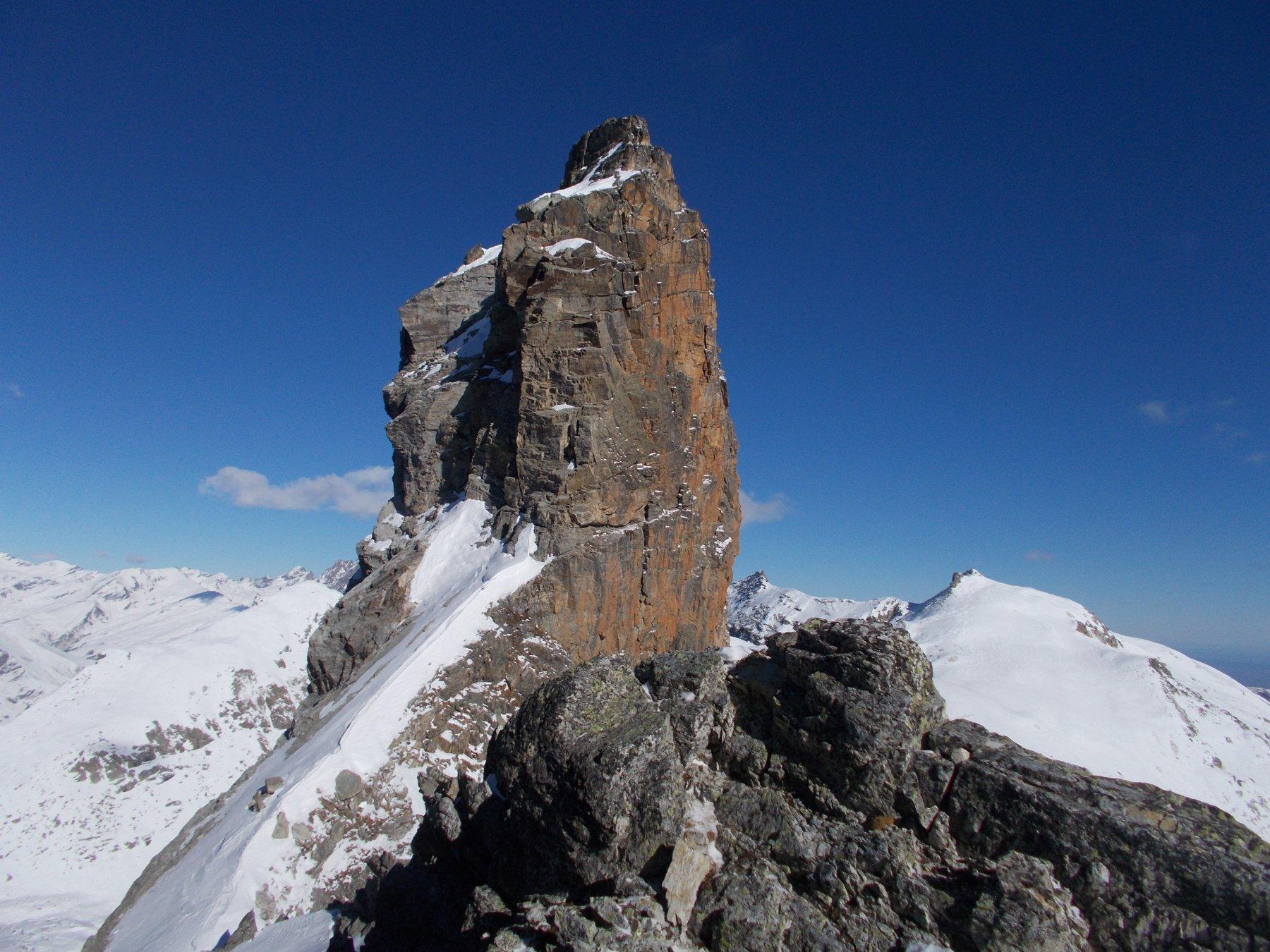 la Rocca Gialeo..dalla forcella omonima..