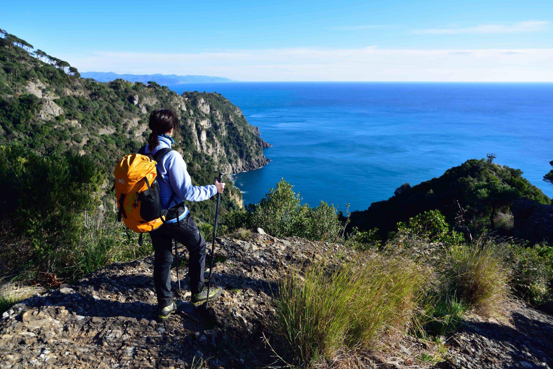 Sentiero verso Portofino