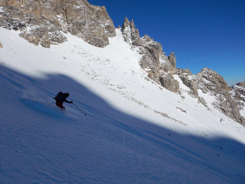 Soubeyran (Monte) da Saretto, anello per il Passo delle Munie 2017-01-15