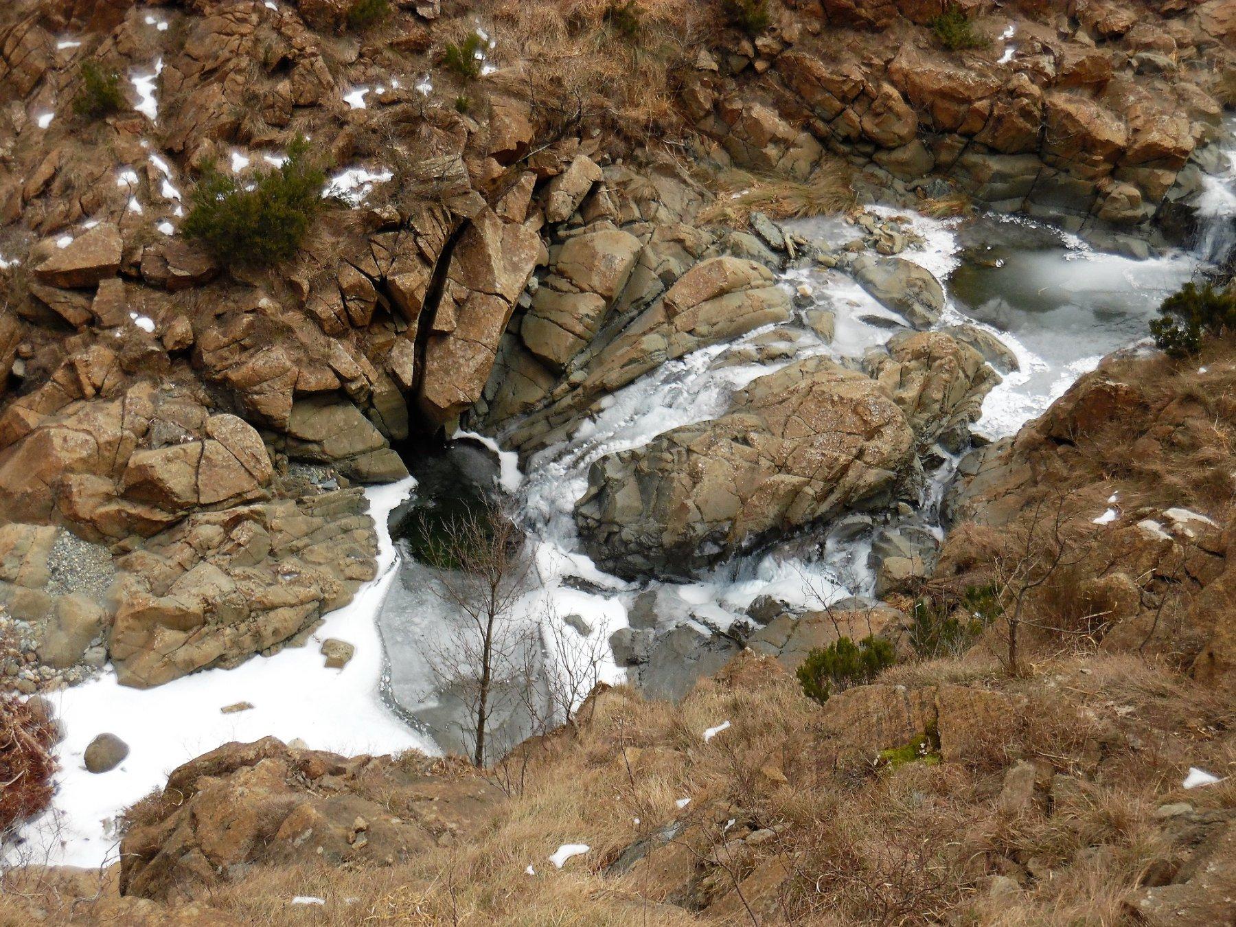 Rio degli Eremiti ghiacciato
