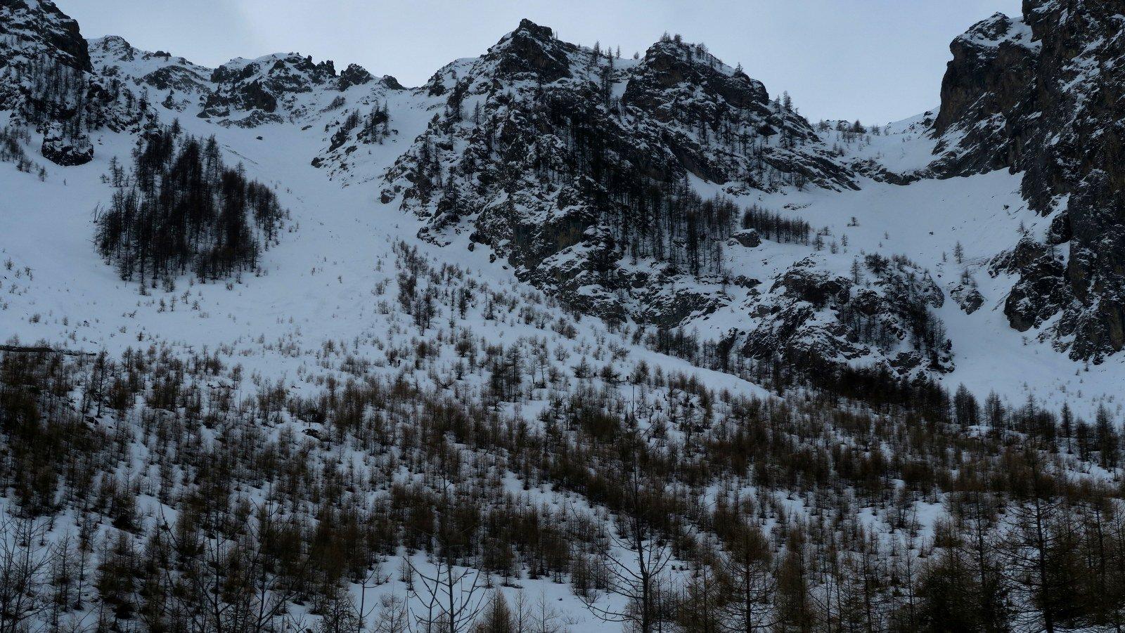 Viraysse (Monte) o Cime de la Coste du Col da Saretto per il Colle Sautron 2017-01-17