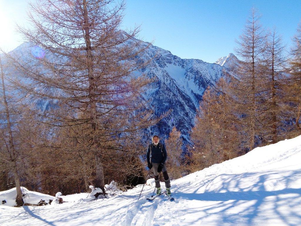 Piero esce dal bosco