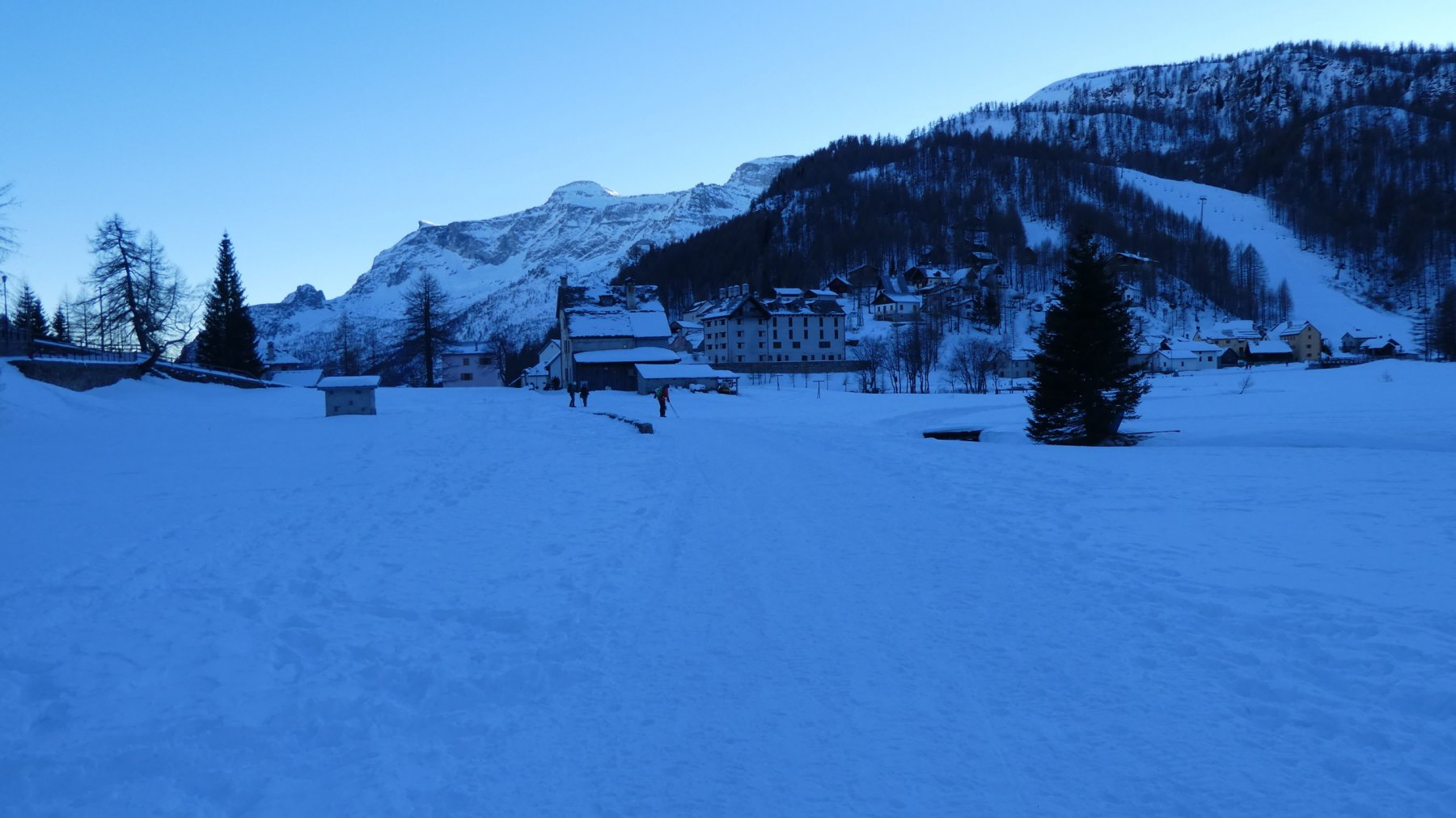 il grande pianoro dell'Alpe Devero