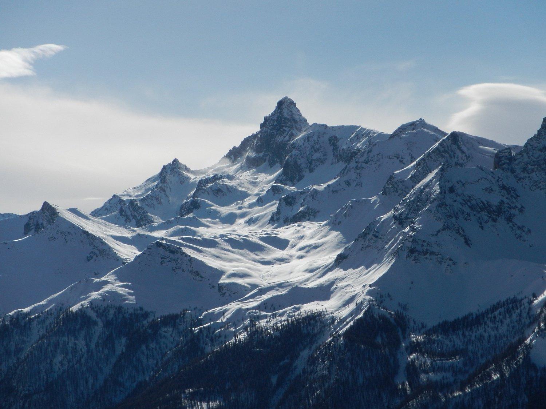 vista sul Pic de Rochebrune