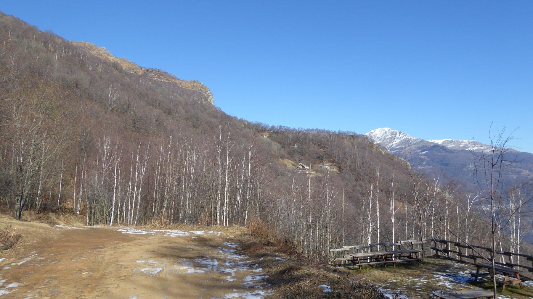 Verso il Monte La Torretta, il promontorio La Serra